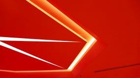 Diseño gráfico de las luces de techo Imagen de archivo libre de regalías
