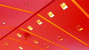 Diseño gráfico de las luces de techo Fotografía de archivo libre de regalías