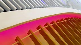 Diseño gráfico del accesorio de madera de las luces de techo Fotos de archivo