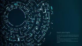 Diseño gráfico del enrejado radial Fondo abstracto del vector Embudo, calabozo libre illustration