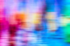 Diseño gráfico del fondo multicolor abstracto del movimiento foto de archivo libre de regalías