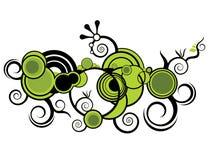 Diseño gráfico espiral del vector Fotos de archivo libres de regalías