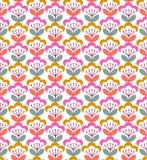 Diseño gráfico floral colorido del modelo foto de archivo libre de regalías