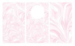 Diseño gráfico para la plantilla de la carpeta, aviadores corporativos Disposiciones del mármol de la cubierta del informe anual  fotos de archivo libres de regalías
