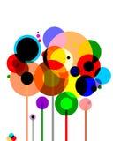 Diseño gráfico simple Foto de archivo libre de regalías