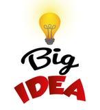 Diseño grande de las ideas Imagen de archivo libre de regalías
