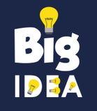 Diseño grande de las ideas Foto de archivo