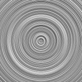 Diseño gris del fondo del círculo concéntrico de la pendiente stock de ilustración