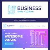 Diseño hermoso de la marca del concepto del negocio, diseñador, digital libre illustration