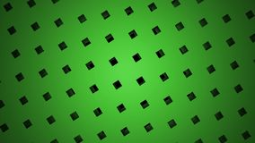 Diseño hermoso de la partícula del punto de la caja del cubo, geometría abstracta del punto del fractal La creatividad de interse almacen de metraje de vídeo