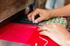 Diseño hermoso del algodón de Tailandia Imágenes de archivo libres de regalías