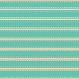 Diseño horizontal simple vibrante hermoso del estilo de la puntada de la raya Modelo incons?til del vector en fondo de la turques ilustración del vector