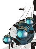Diseño ilustrado extracto Imagenes de archivo
