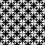 Diseño inconsútil blanco y negro del modelo del vector Fotos de archivo libres de regalías