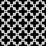 Diseño inconsútil blanco y negro del modelo del vector Fotografía de archivo libre de regalías