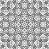 Diseño inconsútil blanco y negro del modelo del vector Foto de archivo libre de regalías