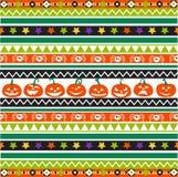 Diseño inconsútil del modelo de Halloween, postal ilustración del vector