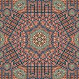 Diseño inconsútil 023 del modelo del khayameya Imagen de archivo libre de regalías