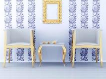 Diseño interior clásico Imagenes de archivo