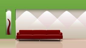 Diseño interior con estilo Fotografía de archivo libre de regalías