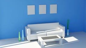 Diseño interior contemporáneo Imagenes de archivo