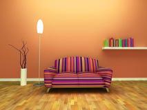 Diseño interior contemporáneo Imágenes de archivo libres de regalías