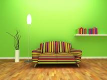 Diseño interior contemporáneo Fotografía de archivo