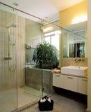 Diseño interior - cuarto de baño imagen de archivo libre de regalías