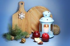 Diseño interior de la Navidad Imágenes de archivo libres de regalías