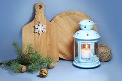 Diseño interior de la Navidad Fotografía de archivo