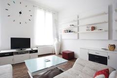 Diseño interior de la sala de estar Imagen de archivo libre de regalías