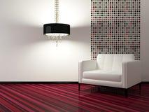 Diseño interior de sala de estar moderna Imagen de archivo libre de regalías