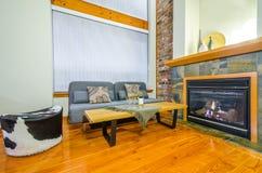 Diseño interior de una sala de estar de lujo Foto de archivo