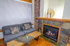 Diseño interior de una sala de estar de lujo Imágenes de archivo libres de regalías