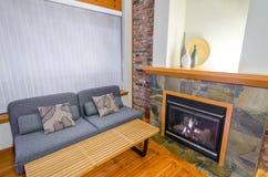 Diseño interior de una sala de estar de lujo Imagen de archivo libre de regalías