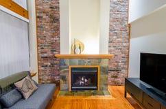 Diseño interior de una sala de estar de lujo Imagenes de archivo