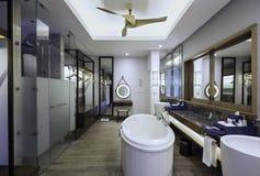 Diseño interior del cuarto de baño Imagen de archivo libre de regalías