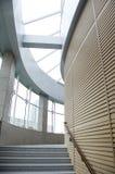 Diseño interior del pasillo de la construcción Imagen de archivo