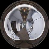 diseño interior del pasillo del ejemplo 3d en estilo clásico Render es stock de ilustración