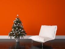 Diseño interior del sitio de la Navidad Imágenes de archivo libres de regalías