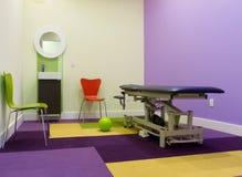 Diseño interior del sitio del masaje Foto de archivo libre de regalías