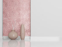 Diseño interior. Detalle tirado de sala de estar Foto de archivo libre de regalías