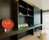 Diseño interior - dormitorio Imagen de archivo libre de regalías
