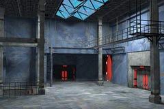Diseño interior industrial Foto de archivo