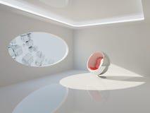 Diseño interior moderno ilustración del vector