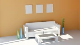 Diseño interior moderno Fotos de archivo libres de regalías