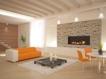Diseño interior moderno Fotografía de archivo
