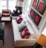Diseño interior moderno con estilo Fotos de archivo libres de regalías