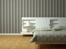 Diseño interior moderno de dormitorio Fotos de archivo