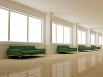 Diseño interior - pasillo imagen de archivo libre de regalías